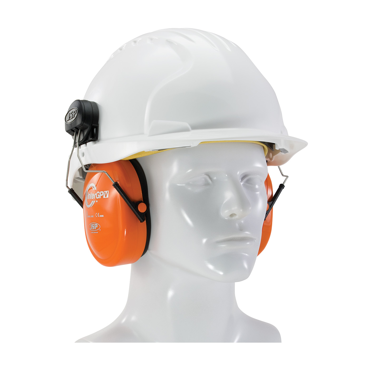 Helmet Mounted Ear Muffs Protective Industrial Products