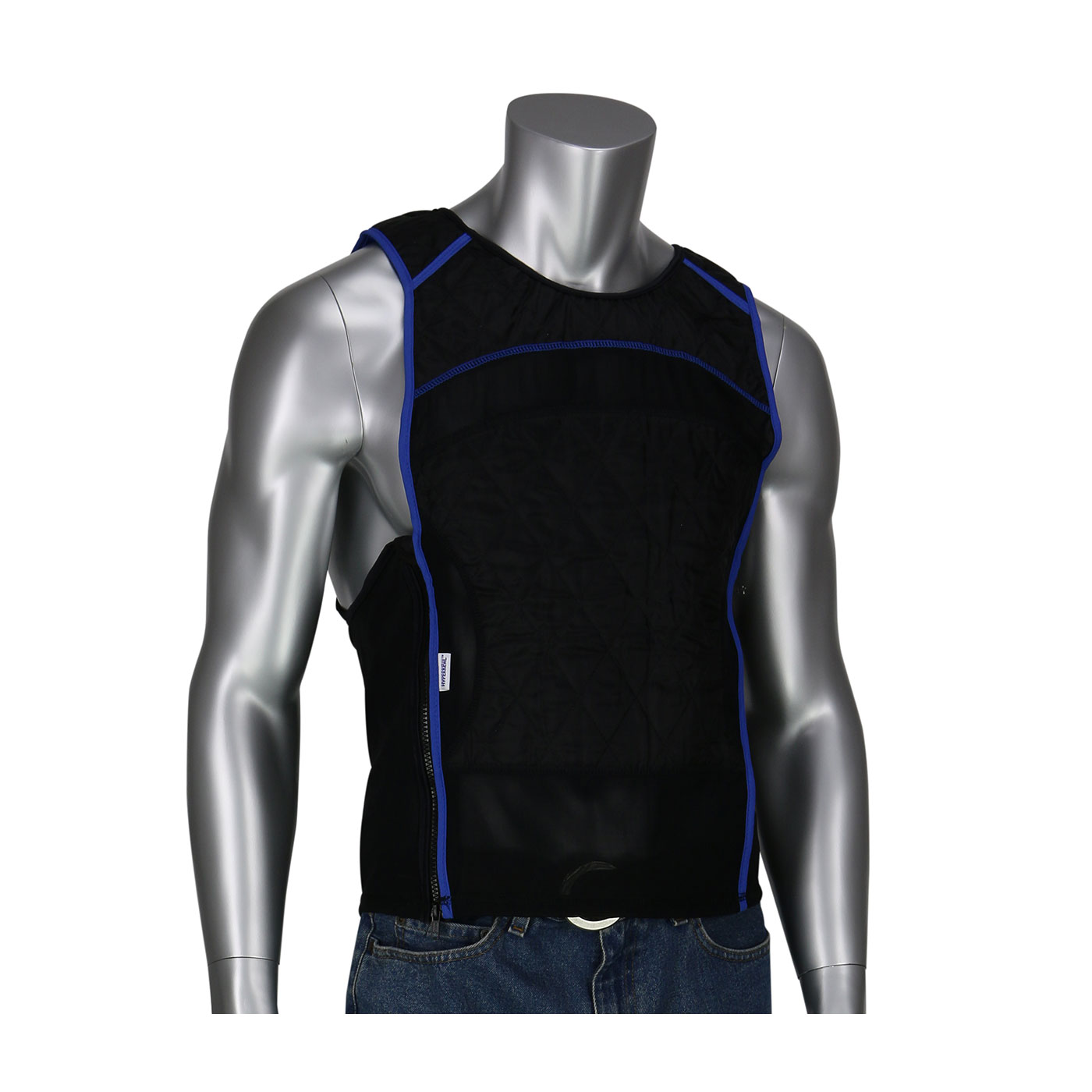 Evaporative Cooling Clothing : Premium evaporative cooling vest protective industrial