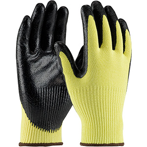 Kevlar Gloves with Solid Nitrile Gr