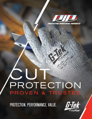PIP G-Tek® PolyKor™ Cut Safety Grip Gloves
