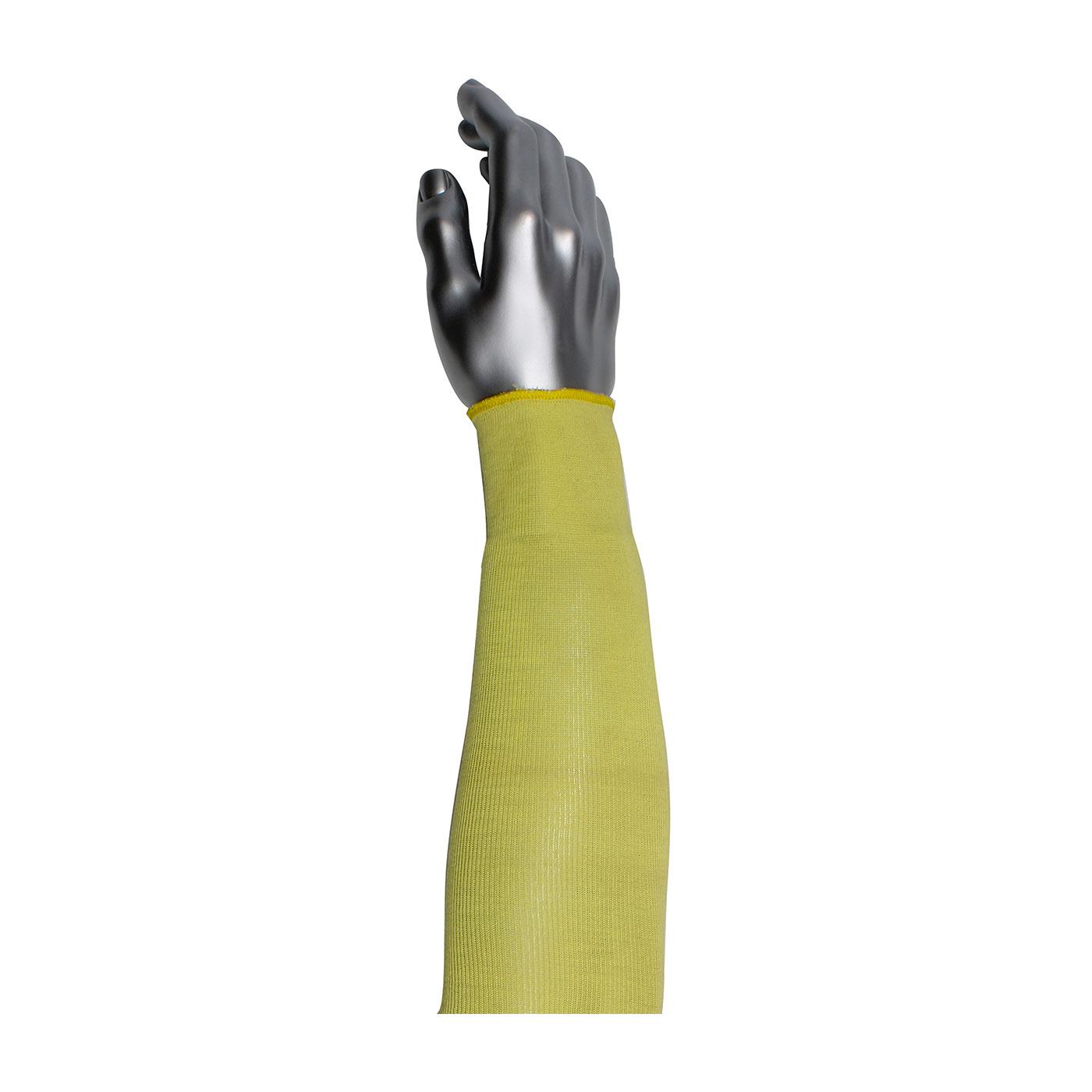 "Single-Ply Kevlar® Sleeve, Yellow, 14"""