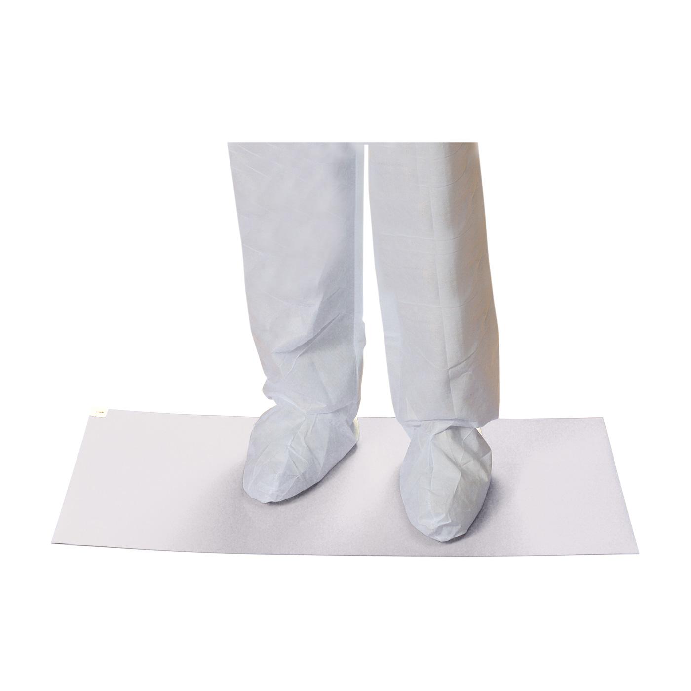 "60-Layer Contamination Control Mat - 26"" x 45"", White, 26"" x 45"""