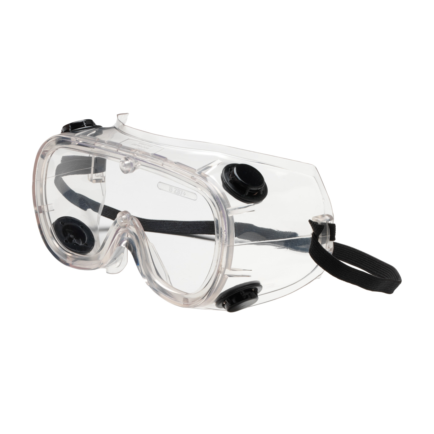 Indirect Vent Goggle with Clear Body and Clear Lens, Clear, OS