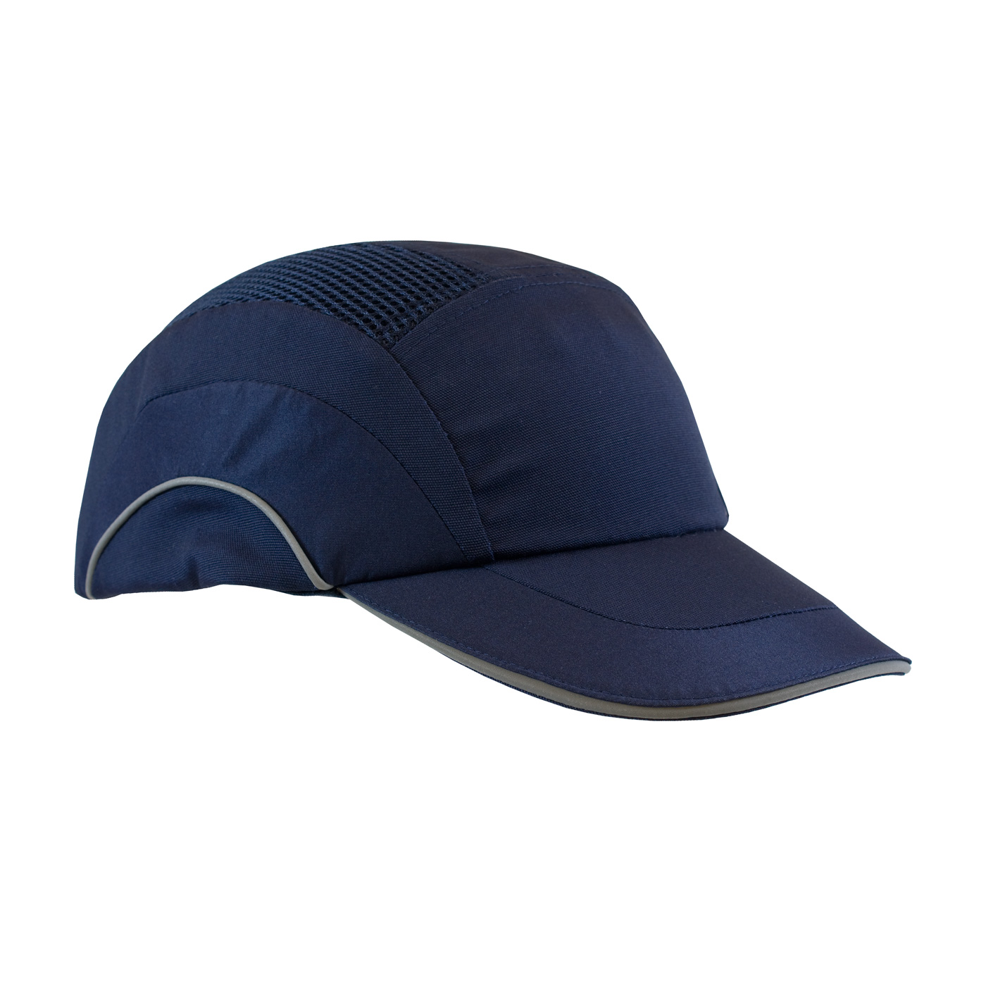 Baseball Style Bump Cap with HDPE Protective Liner and Adjustable Back, Navy, OS