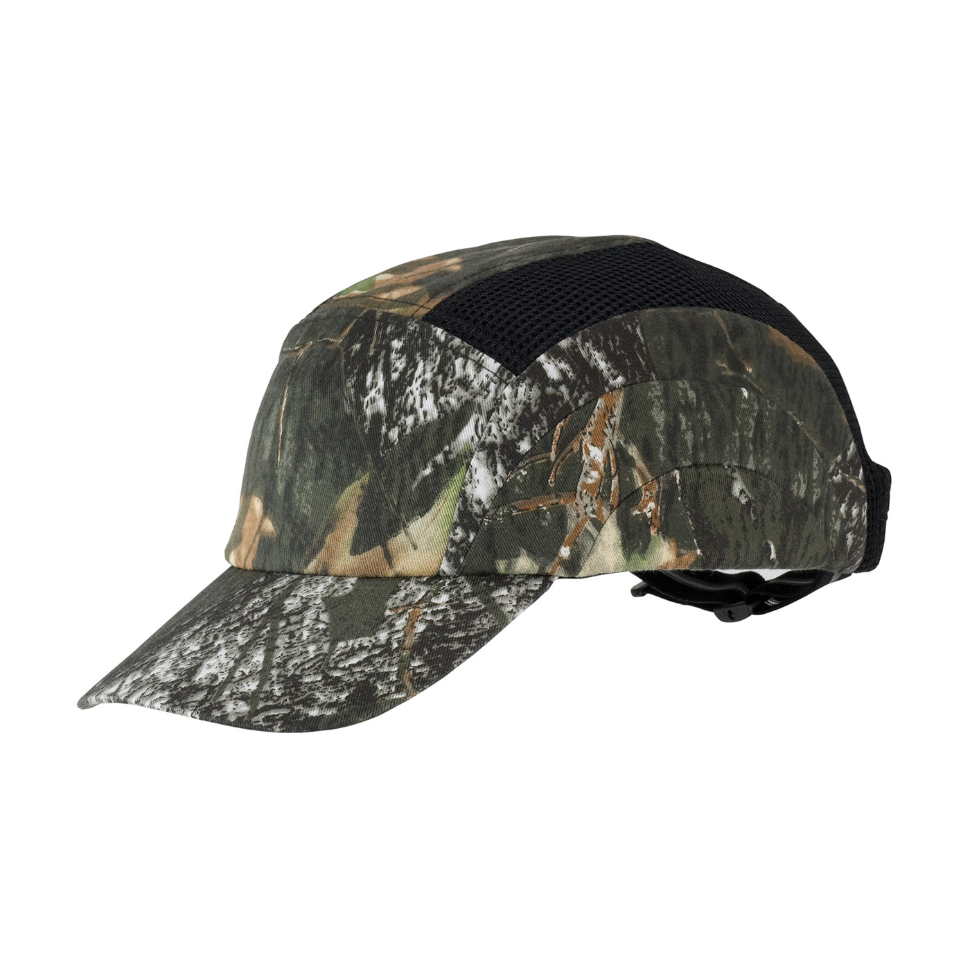 Camouflage Baseball Style Bump Cap with HDPE Protective Liner and Adjustable Back, Camouflage, OS