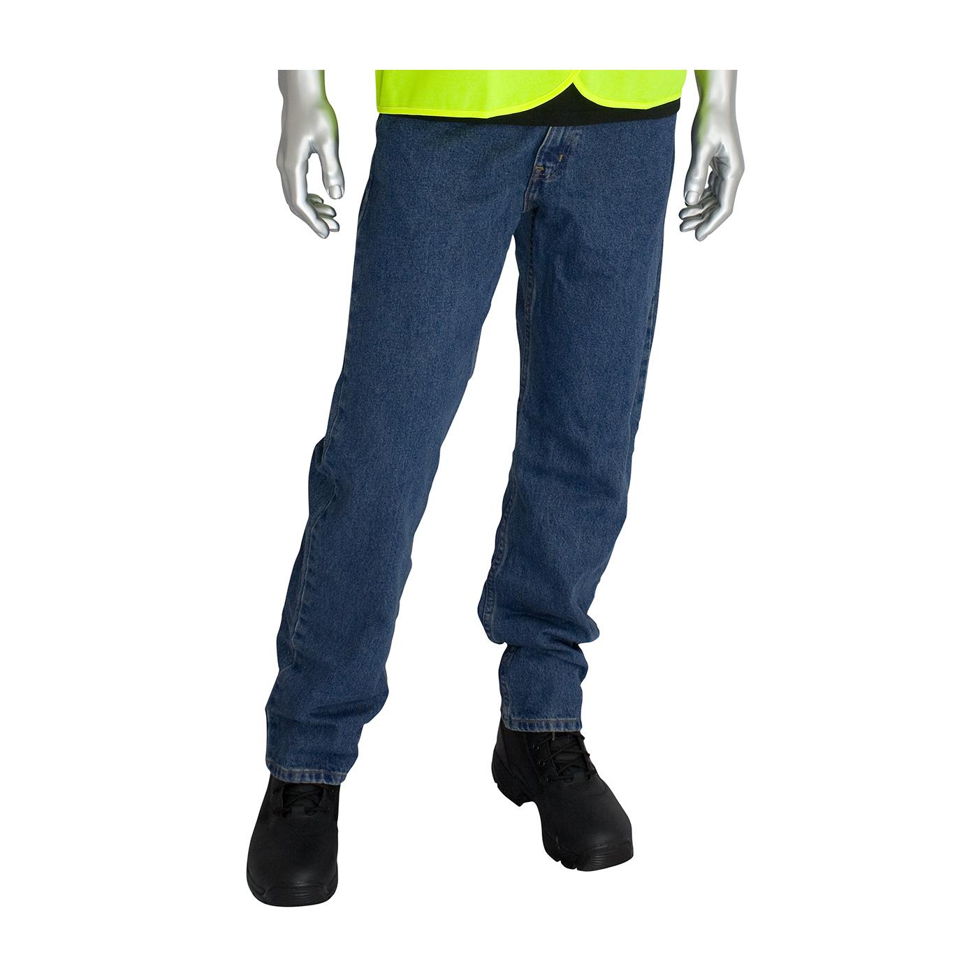 AR/FR Dual Certified Jeans - 16.4 cal/cm2, Blue, 38W x 36L