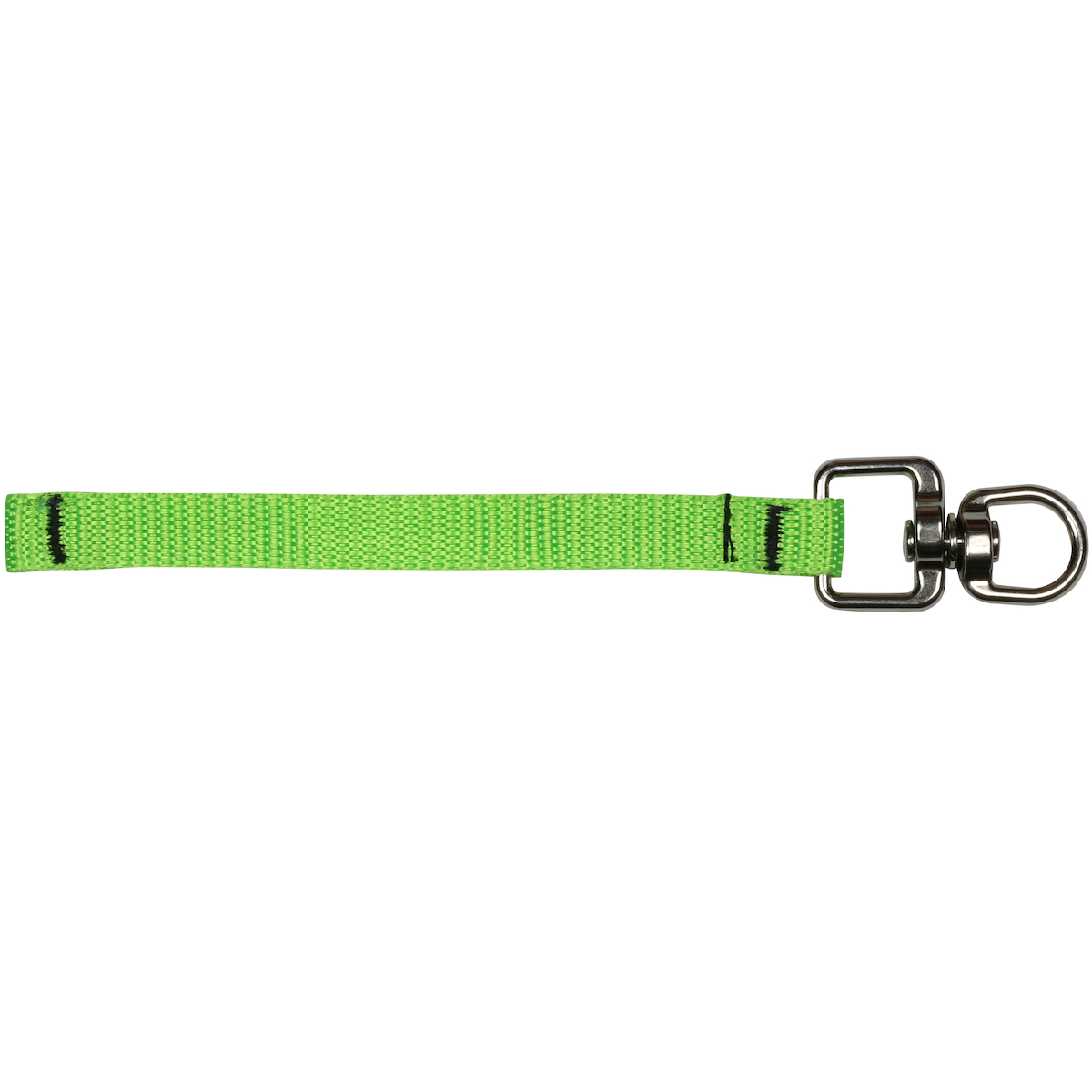 """Webbing Tool Connector 5.5"""" - 3 lbs. maximum load limit - Retail Packaged, Green, OS"""