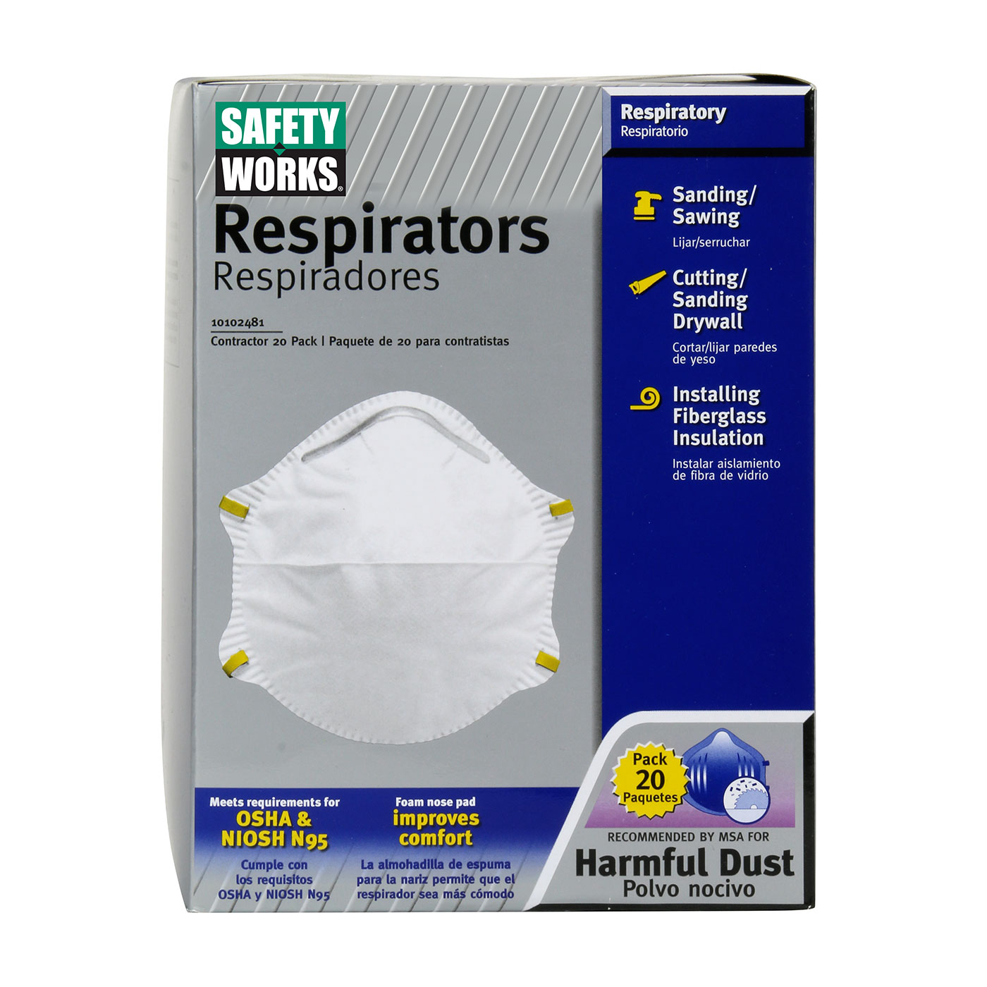 Respirator Cone Products Industrial N95 Protective