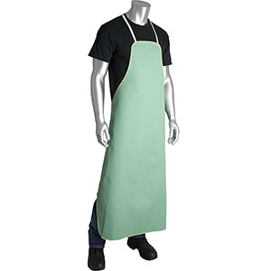 FR Green Sateen Aprons