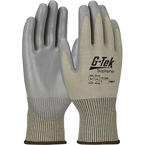 Seamless Knit Suprene™ Blended Glove with Polyurethane Coated Smooth Grip on Palm & Fingers