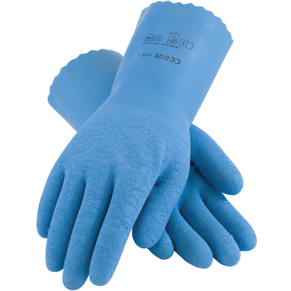 Latex Coated Seamless Lined Gloves